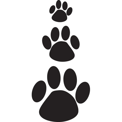 Cat Paw Prints Large Car Stickers Over 60 Stickers Aurum92